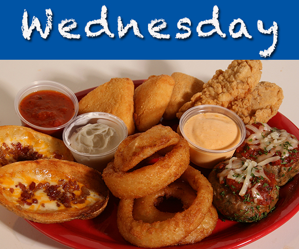 Wed Food Specials: Ralphies Family Sports Eatery